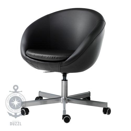 Ikea Udden Kitchen Planning ~ IKEA SKRUVSTA Drehstuhl in schwarz Bürostuhl Schreibtischstuhl Sessel
