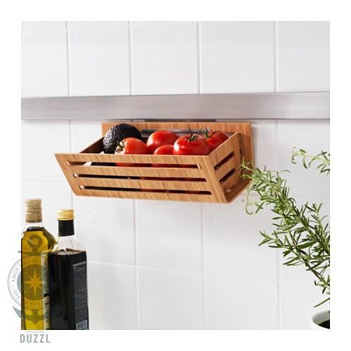 IKEA RIMFORSA Korb aus Bambus; (32x15x11cm) Lebensmittel Küche ...