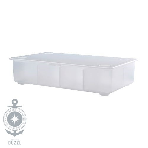 ikea glis box mit deckel in transparent 34x21cm aufbewahrung kiste verstauen ebay. Black Bedroom Furniture Sets. Home Design Ideas