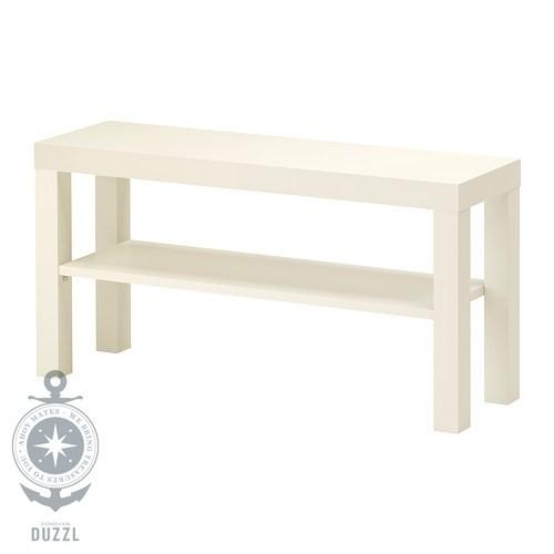 ikea lack tv bank in wei 90x26cm fernseher bank tv tisch wohnzimmerbank ebay. Black Bedroom Furniture Sets. Home Design Ideas