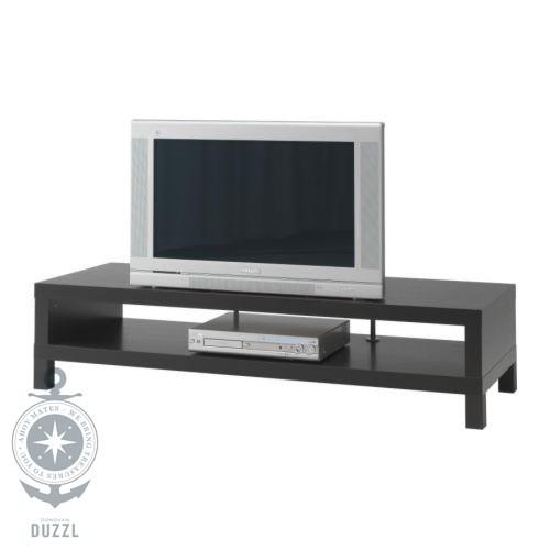 ikea lack tv bank in schwarzbraun 149x55cm fernseher bank tv tisch ebay. Black Bedroom Furniture Sets. Home Design Ideas
