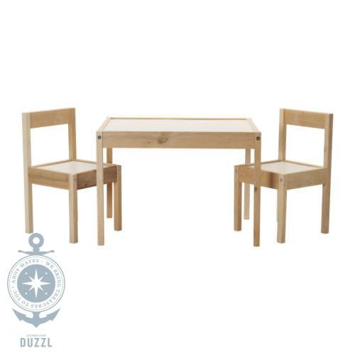 IKEA Lätt Kindertisch Mit 2 Stühlen Kinder Stuhl Tisch Set
