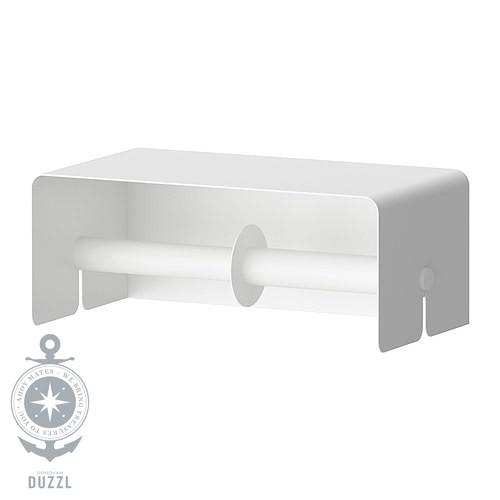 IKEA ENUDDEN Toilettenpapierhalter doppelt weiß Klopapierhalter ...