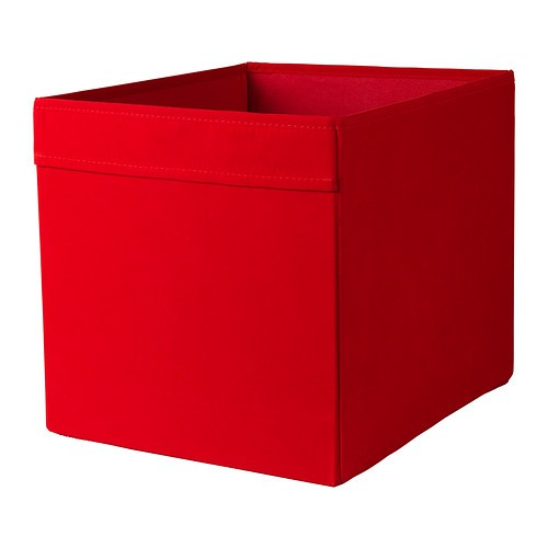 ikea dr na box in rot 33x38x33cm passend f r expedit. Black Bedroom Furniture Sets. Home Design Ideas