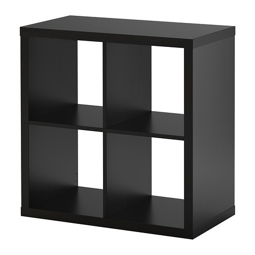 ikea kallax regal schwarzbraun 77 x 77cm kompatibel mit expedit wandregal ebay. Black Bedroom Furniture Sets. Home Design Ideas