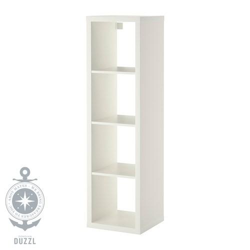 ikea kallax regal in wei 42x147cm passend zu expedit b cherregal raumteiler ebay. Black Bedroom Furniture Sets. Home Design Ideas