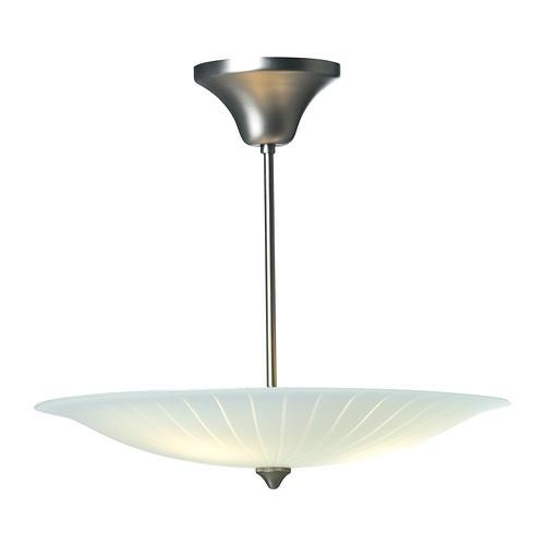 ikea orn s deckenleuchte mit glasschirm deckenlampe schirmlampe beleuchtung ebay. Black Bedroom Furniture Sets. Home Design Ideas