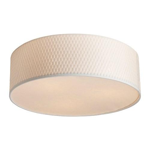 ikea al ng deckenleuchte in wei durchmesser 45cm deckenlampe beleuchtung ebay. Black Bedroom Furniture Sets. Home Design Ideas
