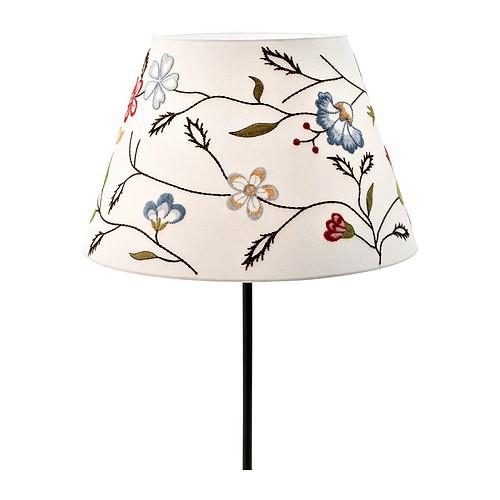 Ikea alvine p rla lampenschirm 38cm f r deckenleuchte for Lampenschirm ikea