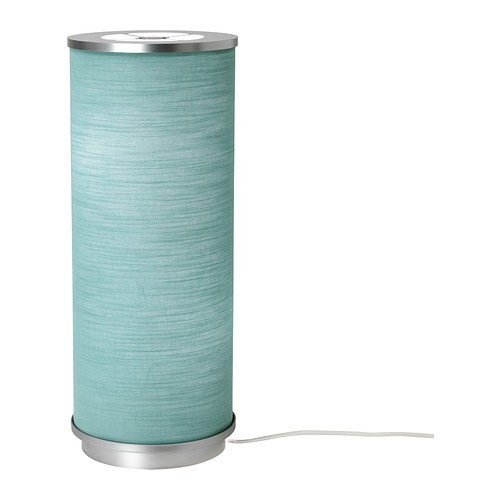 ikea vidja tischleuchte in t rkis 48cm tischlampe dekoleuchte dekolampe ebay. Black Bedroom Furniture Sets. Home Design Ideas