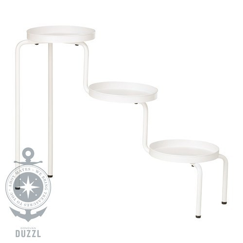 ikea ps 2014 blumenst nder in wei 53cm pflanzenst nder pflanzenhalter ebay. Black Bedroom Furniture Sets. Home Design Ideas