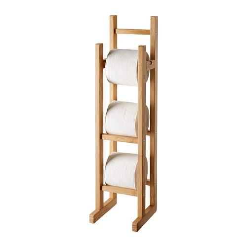 ikea r grund toilettenpapierhalter klopapierhalter wc papier st nder ebay. Black Bedroom Furniture Sets. Home Design Ideas