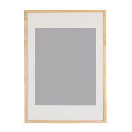 ikea ribba rahmen birkenachbildung 40x50cm bilderrahmen. Black Bedroom Furniture Sets. Home Design Ideas