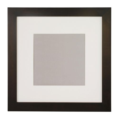 ikea fj llsta rahmen dunkelbraun 50x50cm bilderrahmen photorahmen fotorahmen ebay. Black Bedroom Furniture Sets. Home Design Ideas