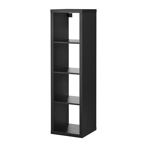ikea kallax regal dunkelbraun 42x147cm passend zu expedit b cherregal raumteiler ebay. Black Bedroom Furniture Sets. Home Design Ideas